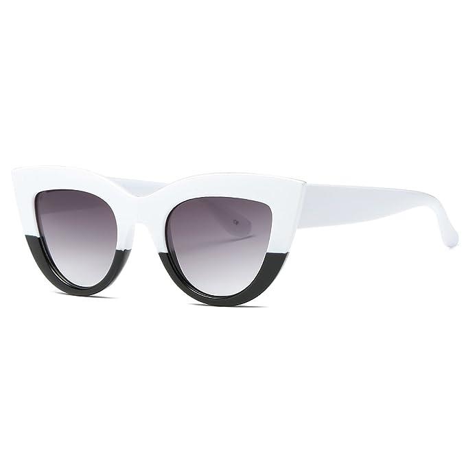 kimorn Gafas De Sol Para Mujer Bisagras De Metal Ojos De Gato Marco De Plástico K0568