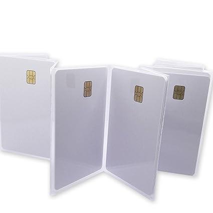 10x Sle4442 Blanco Memory Chipkarte Id Kartenrohling