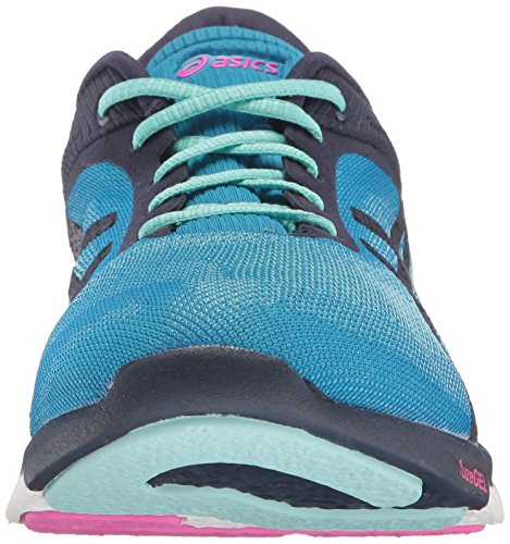 US Blue Fuzex Indigo Diva Running Shoe ASICS White Women's 12 Blue Rush M 7ZnAAp