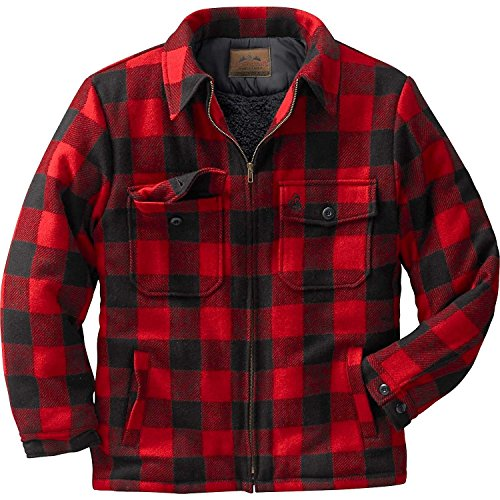 Buffalo Plaid Wool (Legendary Whitetails The Outdoorsman Buffalo Jacket Plaid X-Large Tall)