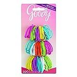 Goody Girls Classics Small Thin Metal Elastics, 100 Count, 0.16 lb