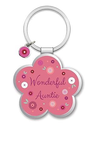 Little Wishes Auntie Metallic Keyring - Gift Idea  Amazon.co.uk ... 1e579793dbd7