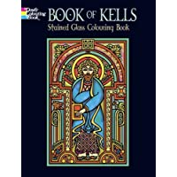 Book of Kells Stained Glass Colouring Book