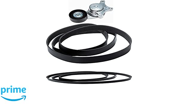 ACDelco ACK060448 Professional Automatic Belt Tensioner Kit with Tensioner and Belts