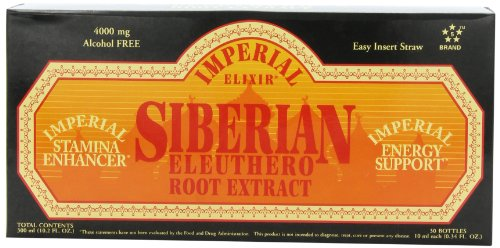 Extract Siberian Eleuthero Root (Imperial Elixir Siberian Eleuthero Root Extract, 30-Count)