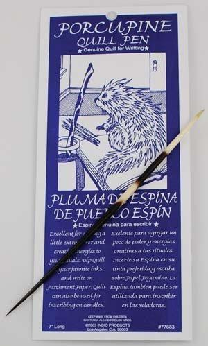 Porcupine Quill Pen (RPORQ) - by Sage Cauldron by Sage Cauldron