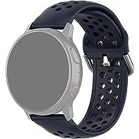 Pulseira 20mm Sport Moderna compatível com Galaxy Watch Active 1 e 2 - Galaxy Watch 3 41mm - Galaxy Watch 42mm - Amazfit…