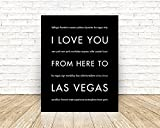 Las Vegas State Travel Art Print