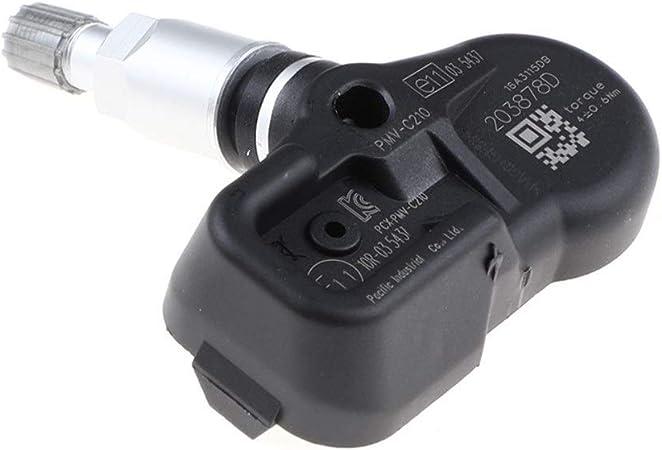 Reifendruck/überwachung Auto for TOYOTA Avensis Auris RAV4 Yaris Verso 42.607-02.031 4260702031 PMV-C210 TPMS Reifendrucksensor Color : Black