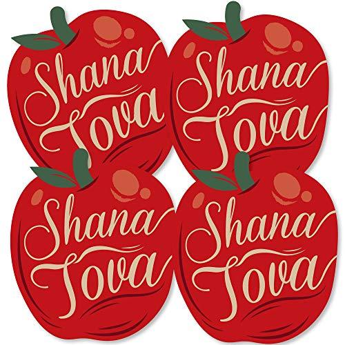 Rosh Hashanah - Apple Decorations DIY Jewish New Year Essentials - Set of 20 (Hashanah Apples Rosh)