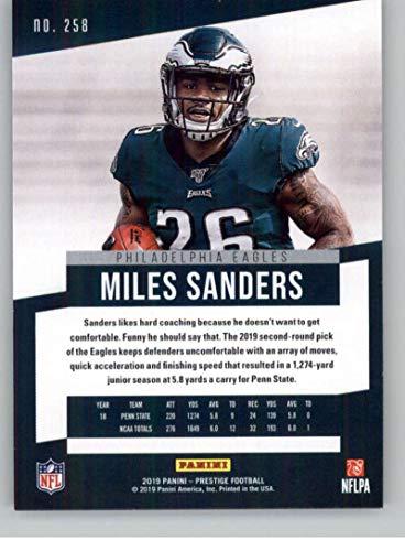 Amazon com: 2019 Prestige NFL #258 Miles Sanders RC Rookie
