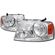 Forest River Georgetown 2006-2009 RV Motorhome Pair (Left & Right) Replacement Headlights Head Lights Front Lamps