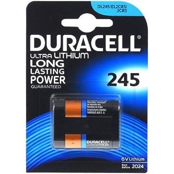 Pila fotgráfica Duracell Ultra M3 modelo 2CR5 1er Blister ...