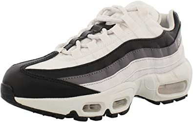 Amazon Com Nike Air Max 95 W Trainers Women White Black Low Top
