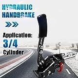RYANSTAR Hydraulic Handbrake Master Cylinder 3/4, E-brake Racing Parking Emergency Brake Lever Handle