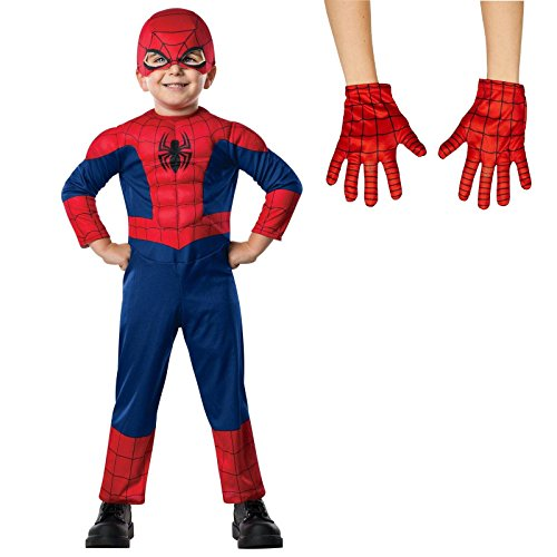 [Ultimate Spider-Man T (2/4) Costume Bundle Set] (Peter Parker Costume Ultimate Spider Man)