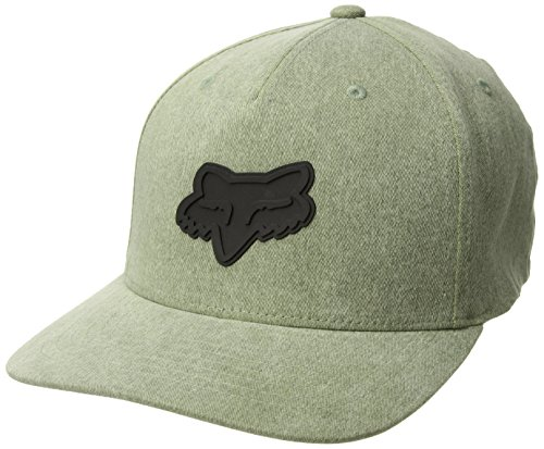 Fox Men's 110 Curved Bill Snapback Hat, Heather Fatigue, OS (Fashion Bill)