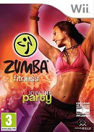 a5ef740fa0f Zumba fitness   join the party + ceinture  Nintendo Wii  Amazon.fr ...