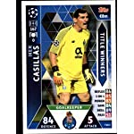 2018-19 Topps UEFA Champions League Match Attax Title Winners #TW15 Iker Casillas.