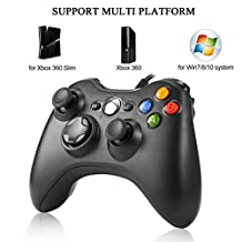 Gamepads Controllers, Justdodo Shoulders Buttons Improved Ergonomic Design USB Wired Joypad Gamepad Controller for Microsoft for Xbox 360 PC for Windows 7
