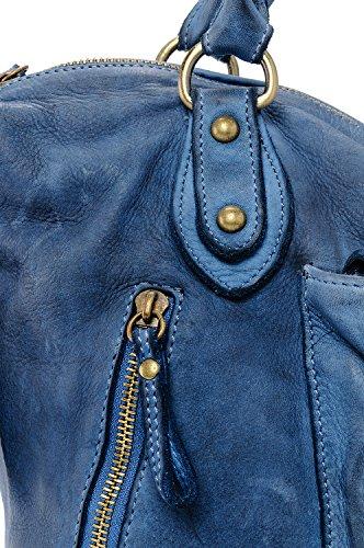 Ira Borsa Vera Made Miami a con Donna Tracolla in Avio Ragazza Bag Modello Italy Vintage Spalla Donna Mano In Valle Small Borsa e Grande Pelle del da r8OZXTr