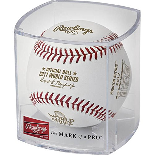 (2017 Houston Astros Rawlings Official MLB World Series Champions Baseball - Cubed)