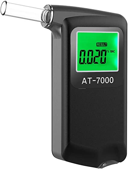 LCD Screen Digital Professional Alcohol Breath Tester Drink Driving Breathalyser