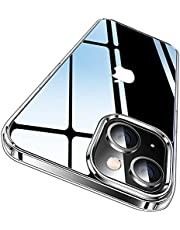 CASEKOO Crystal Clear Designed for iPhone 13 Case, [Not Yellowing] [Military Grade Drop Protection] Shockproof Protective Phone Case 6.1 inch 2021 (Clear)