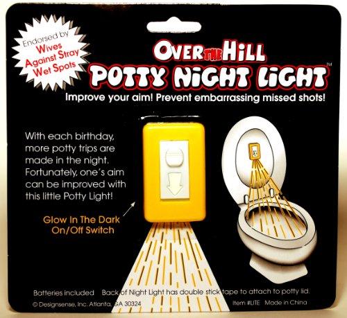 Design Sense Potty Night Light
