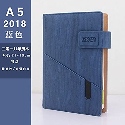 Agenda 2018 pianifica este programa para 365 días, color ...