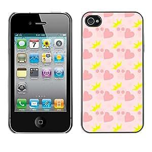 ZECASE Funda Carcasa Tapa Case Cover Para Apple iPhone 4 / 4S No.0002127