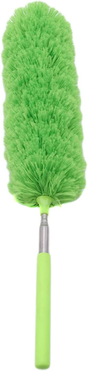Bigsweety Household Flexible Static Dust Cleaner Duster Multifunction Home Office Furniture Car Cleaning Tool Blue