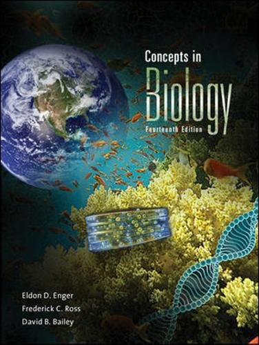 Concepts in Biology with Connect Plus Access Card