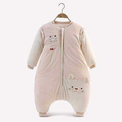 CWLLWC Saco de Dormir para bebé,Los niños de algodón bebé Invierno Engrosamiento Caliente Pierna
