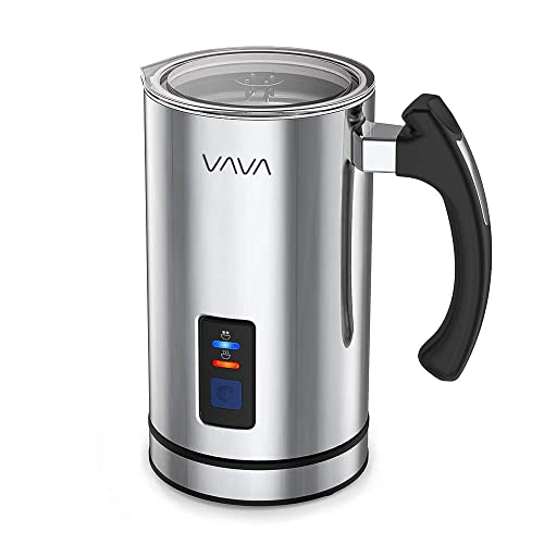 VAVA-VA-EB008-Frother-Liquid-Heater-Functionality,-Stainless-Steel-Electric-Milk-Steamer-for-Latte,-Cappuccino
