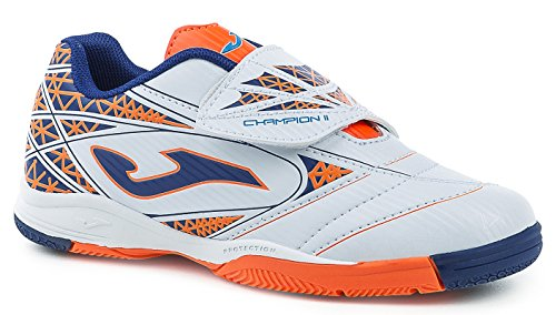JOMA CALCETTO CHAMPION JR 602 WHITE-MARINO INDOOR 33