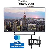 Element ELST4316S 43 1080p 60Hz LED Smart TV w/ED Bundle - $99 Value (Bundle Includes: Wall Mount Bracket + 1 Year Extended CPS Limited Warranty) (Certified Refurbished)