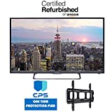 Element ELST4316S 43' 1080p 60Hz LED Smart TV w/ED Bundle - $99 Value (Bundle Includes: Wall Mount Bracket + 1 Year Extended CPS Limited Warranty) (Certified Refurbished)