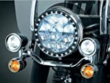 Halo LED Trim by Kuryakyn for Harley FLST Motorcycle 7'' Headlights