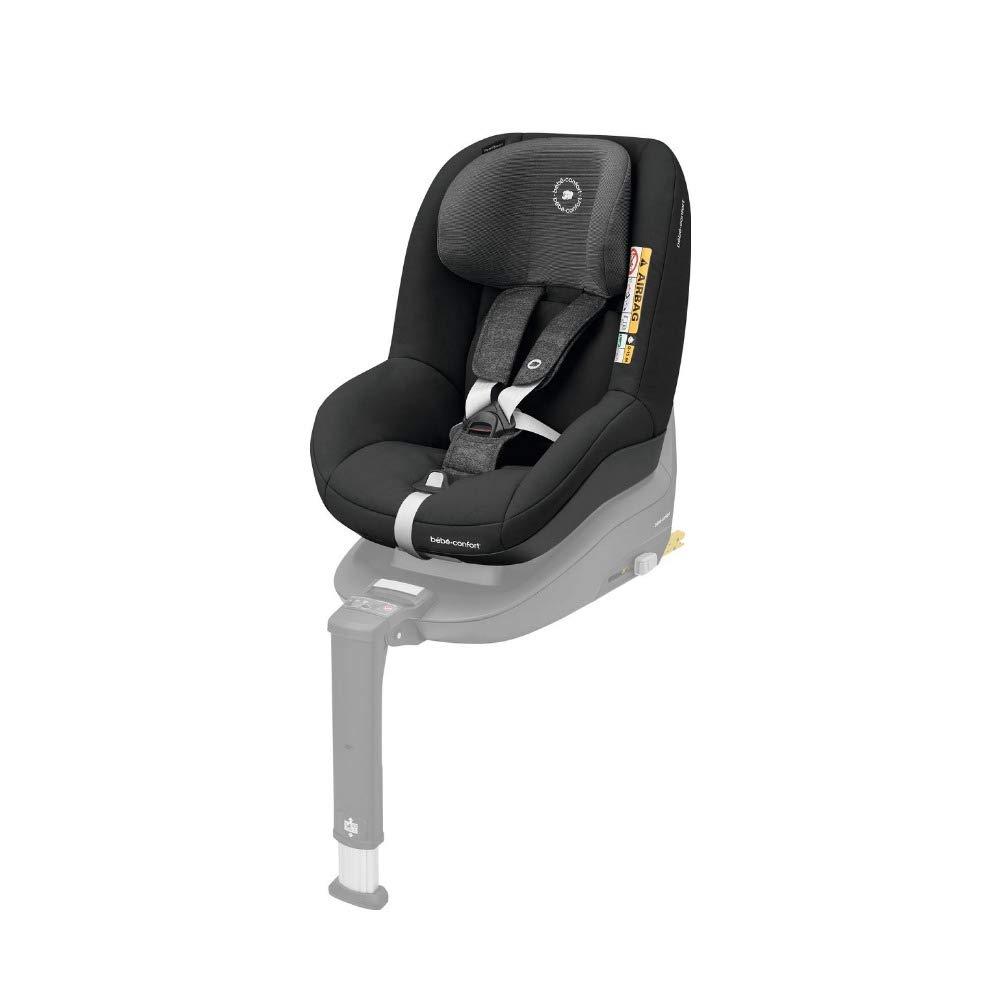 Bébé Confort Pearl Smart I-Size Seggiolino Auto Reclinabile Omologato I- Size, Gruppo 1 per Bambini da 67-105 cm, 6 mesi- 4 anni, nomad Black Bébé Confort 8796710210