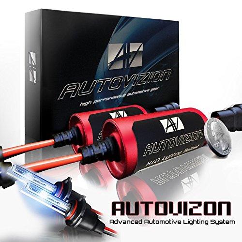 AUTOVIZION HID Xenon Conversion Slim Kit Headlight Low / High / Fog Lights  With