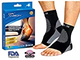 DR.ANISON Ankle Brace Sleeve Support Plantar Fasciitis Compression socks Premium Foot Sleeve For Men Women Foot Pain Relief Heel Pain Treatment With Arch Support Sock Soothers