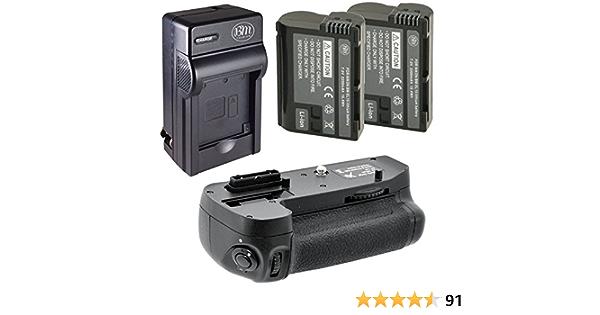 Bater/ía Blumax para Nikon EN-EL15 2000mAh compatible con D7000 D7100 D7200 D500 D600 D610 D750 D800 D810 Nikon 1 V1 7,0V 14Wh m/ás capacidad que la bater/ía original