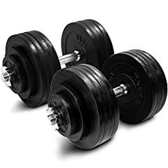 PREMIUM YES4ALL ADJUSTABLE DUMBBELLSYes4All Dumbbells features high performing rust resistant SOLID CAST IRON PLATES, ergonomic textured SOLID CHROME HANDLES and secure SPIN-LOCK STAR COLLARS. Adjustable Dumbbells are easy to use and do not r...