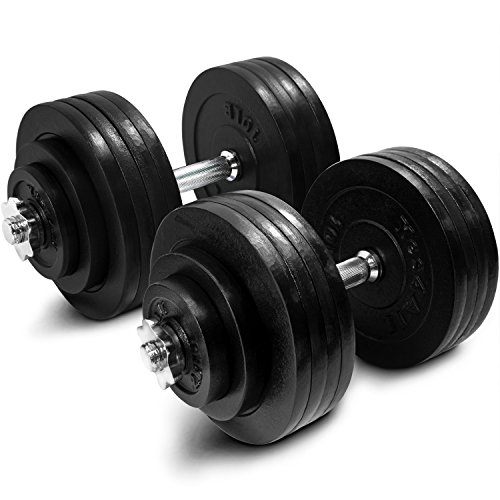 (Yes4All Adjustable Dumbbells - 200 lb Dumbbell Weights (Pair))
