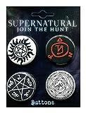 Ata-Boy Supernatural Runes Assortment #1 Set of 4 1.25