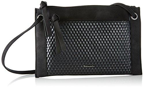 Tamaris 2168171, Women Shoulder Bag, One Size Nero (black Metallic)