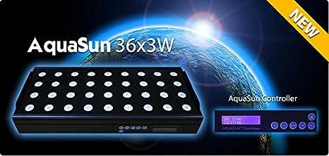 Decke Led Aquarium Programmierbar Alba Sonnenuntergang 36x3w 108w Cree Beleuchtung & Abdeckungen Haustierbedarf