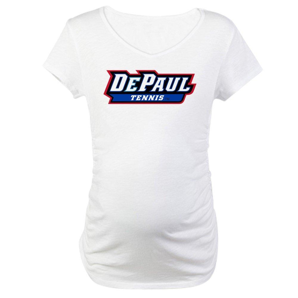 f72a9161c24d3 Amazon.com: CafePress DePaul Tennis Maternity Tee: Clothing