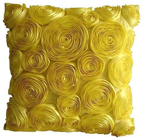 Sun Blooms - Decorativa Funda de Cojin 45 x 45 cm, Square ...